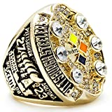 MVPRING Super Bowl Championship Ring (2008 Pittsburgh Steelers)
