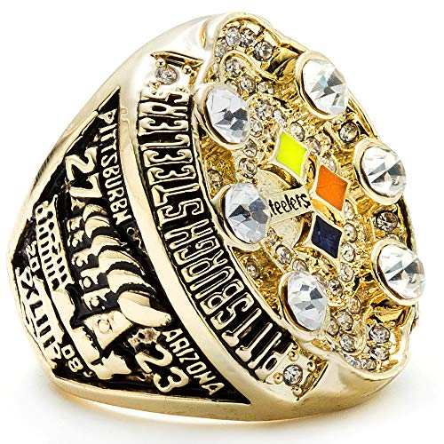 MVPRING Super Bowl Championship Ring (2008 Pittsburgh Steelers) ()