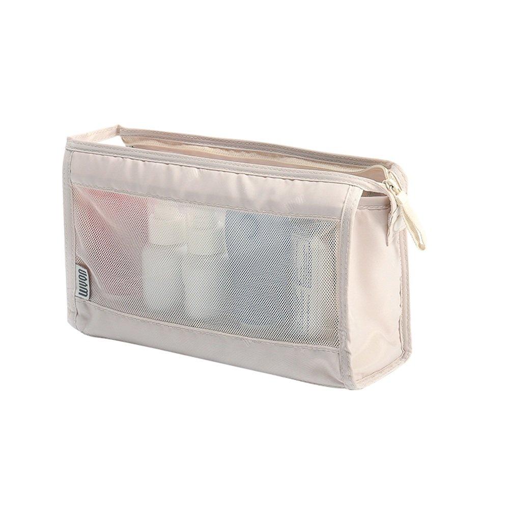 コスメティックバッグ LXZXZ- 旅行用収納バッグ 洗濯バッグ 旅行用洗濯バッグ メンズ レディース 防水 洗濯バッグ 収納バッグ 洗濯バッグ B07CQLVH58 ホワイト(creamy-white)