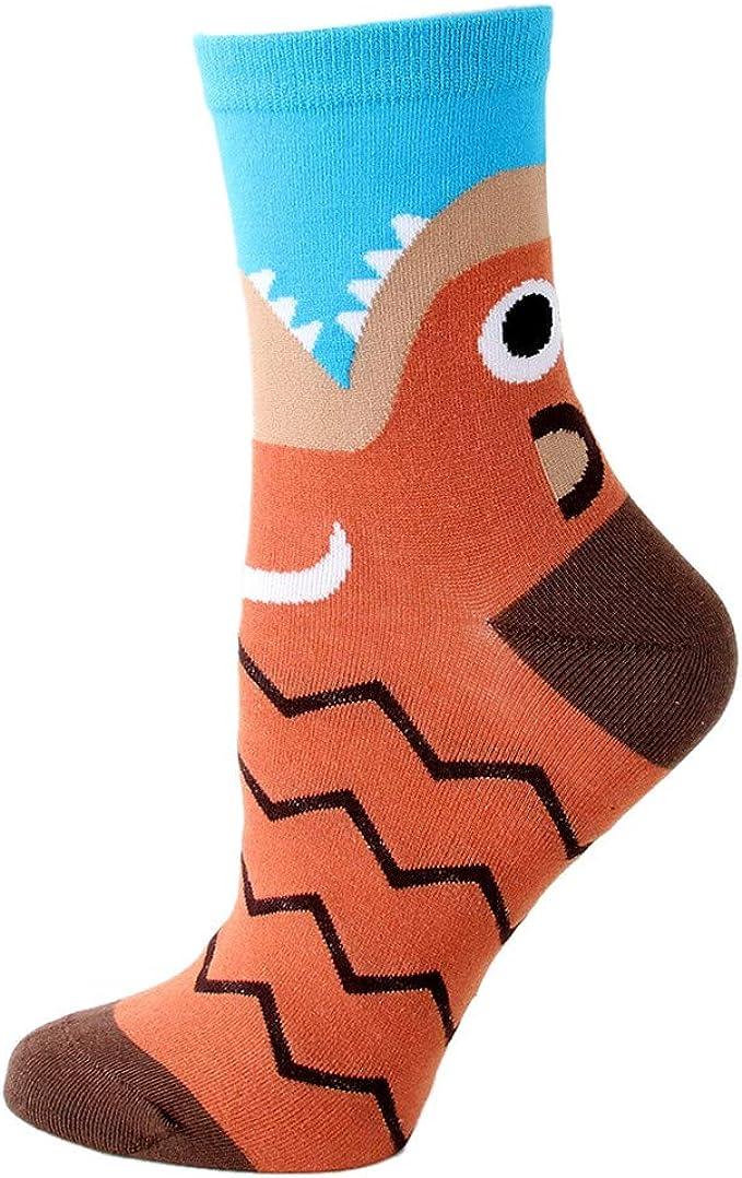 YWLINK Calcetines Deportivos De AlgodóN Animal De Dibujos Animados En Medias Calcetines Deportivos Para Mujer Suave Y Confortable Calcetines Deportivos Azul: Amazon.es: Ropa y accesorios