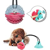 Namsan Dog Chew Toy - Smart Dog Molar Bite Toys Dog Chew Ball with Suction Cup and Rope Multi-Function Dogs Molar Balls…