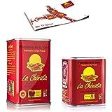Paprikapulver Geräuchert La Chinata - 1 Süß 160g & 1 Scharf 70g