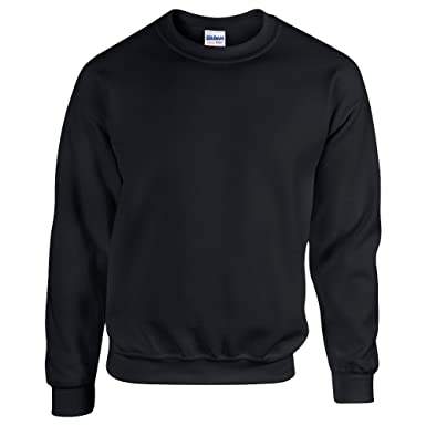 Gildan 50 50 Adult Crew Neck Super Soft Plain Sweatshirt  Amazon.co.uk   Clothing 0e80156f8b5d