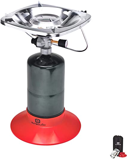 Portable Outdoor Patio Stove Compact Camping Hiking Fishing Gas Heater Cooker