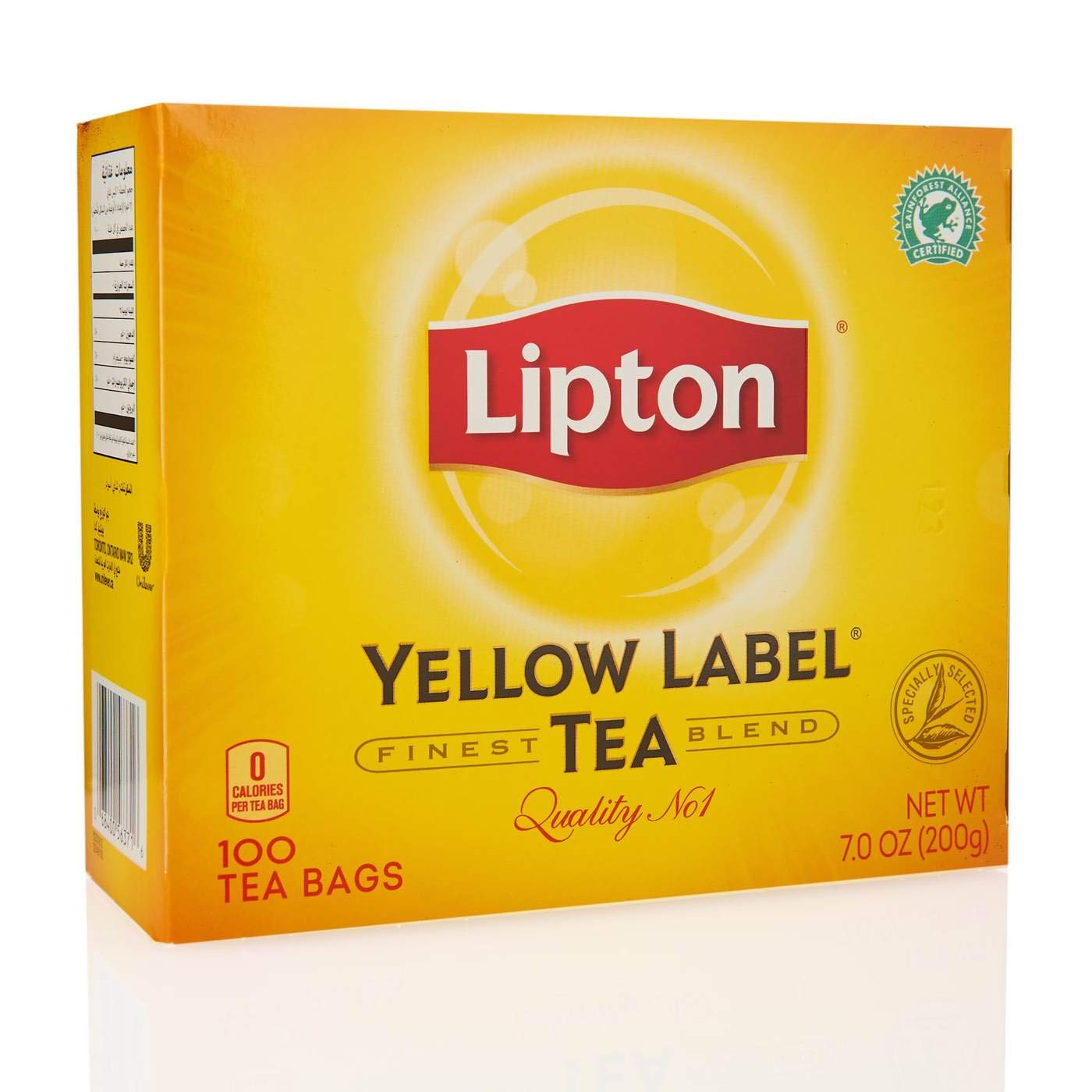 Lipton Yellow Label Tea Bags 100ct, 1 pack