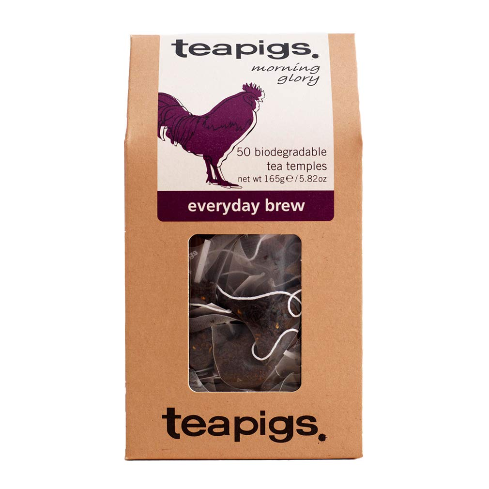 Teapigs Everyday Brew Tea Bags Made with Whole Leaves (1 Pack of 50 Tea Bags)