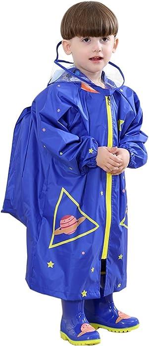 ef4b6afd1 Amazon.com  YOUDirect Kids Raincoat - Girl Boy Cartoon Waterproof ...