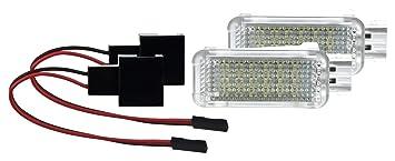 2 X LED SMD Modul Fu/ßraumbeleuchtung