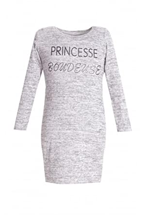 Robe pull fille amazon