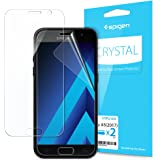 Spigen 573FL21222 Clear screen protector Galaxy A5 2017 2pc(s) screen protector - screen protectors (Clear screen protector, Samsung, Galaxy A5 2017, Scratch-resistant, Transparent, 2 pc(s))