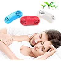 Anti Ronquidos Nasal Dilator para ayuda Breathing smoothly y Relieve Congestión Nasal Nose Mejor Respirar para Dormir(Blanco)