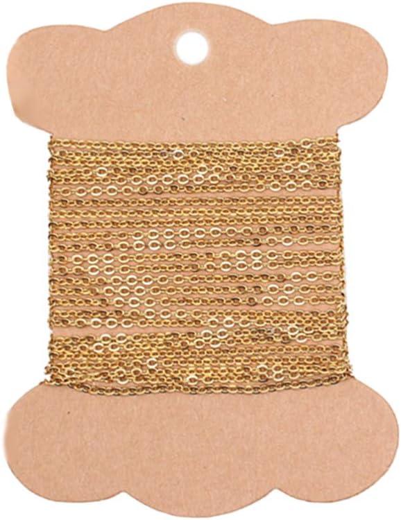 2 Piezas de Plata de Ley o Chapado en Oro Collar de Plata de Ley con Extensor de Cadena Rolo eslabones Extra para Extender tu Collar Pulsera Tobillera 3 Pulgadas Wellme extra/íble y Ajustable