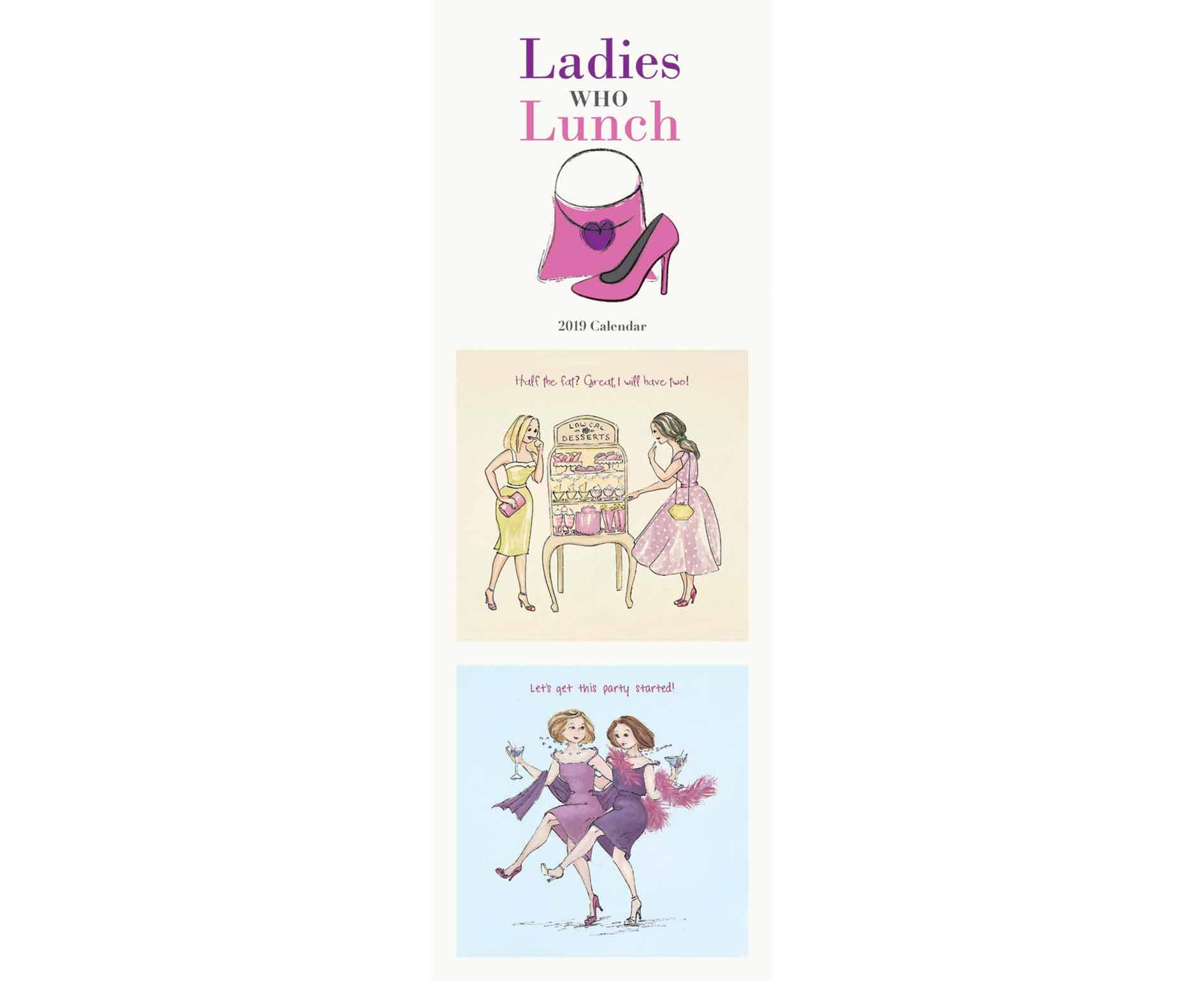 Ladies Who Lunch S 2019 (Slim Standard) Paperback – 13 Aug 2018 Carousel Calendars 2019 1786669110 Schreibwaren (bedruckt)