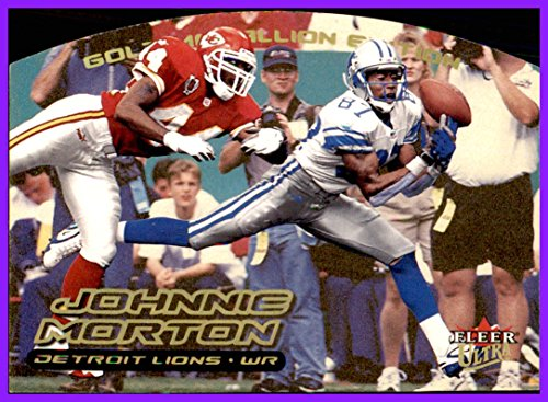 2000 Fleer/Skybox Ultra Gold Medallion #22 Johnnie Morton DETROIT LIONS USC TROJANS