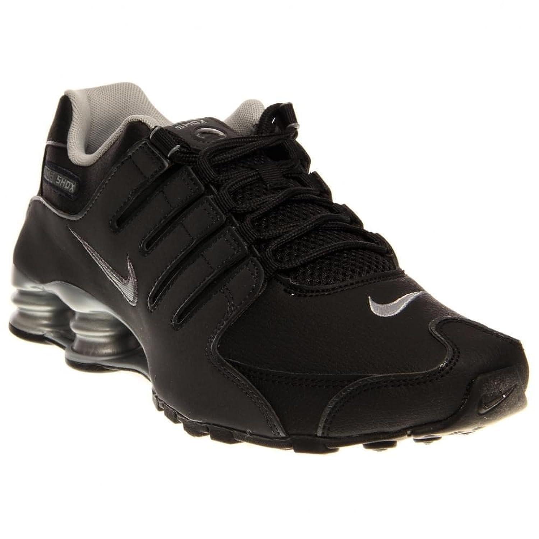 best cheap dd669 f43d5 chaussures nike shox nz noir argent vue interieure. Nike 501524 007 m
