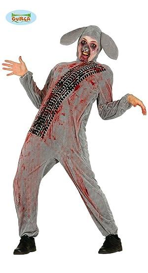 heißer verkauf rabatt beste Schuhe so billig überfahrener Zombie Hase Kostüm für Erwachsene Gr. M/L ...