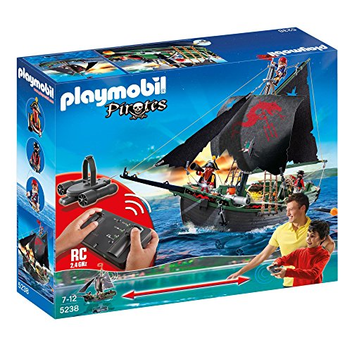 PLAYMOBIL Pirates Ship with RC Underwater Motor