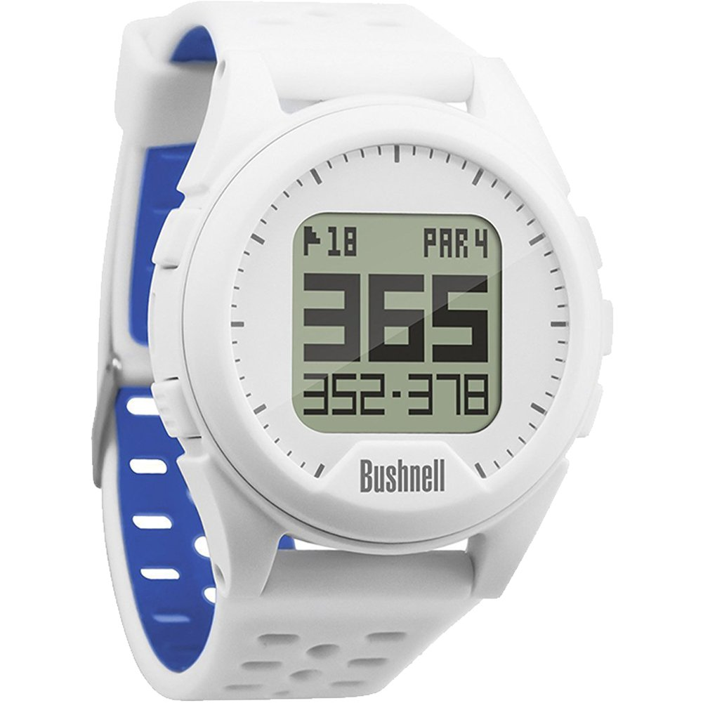 Bushnell Neo Ion Golf GPS Sports Watch, White, Comes with a Custom Ball Marker Hat Clip Set (American Eagle) by Bushnell (Image #2)