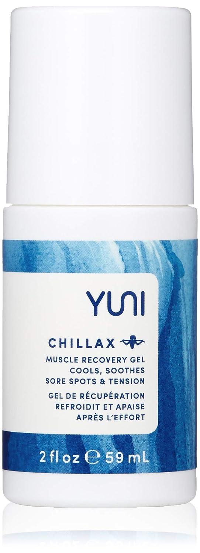 YUNI Beauty Chillax Muscle Recovery Gel, 2 Fl Oz