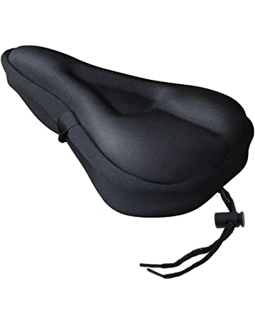 b2397272b44 Zacro Gel Bike Seat Cover- BS031 Extra Soft Gel Bicycle Seat - Bike Saddle  Cushion