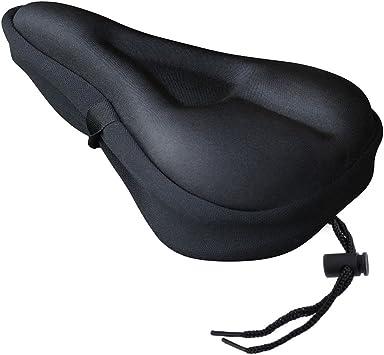 Amazon.com: Zacro Asiento de gel para bicicleta, asiento ...