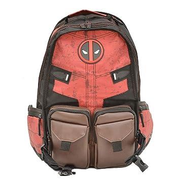 DeLamode Deadpool Marvel Batman Logo Bolsa de Hombro Mochilas de los Estudiantes Deadpool: Amazon.es: Equipaje