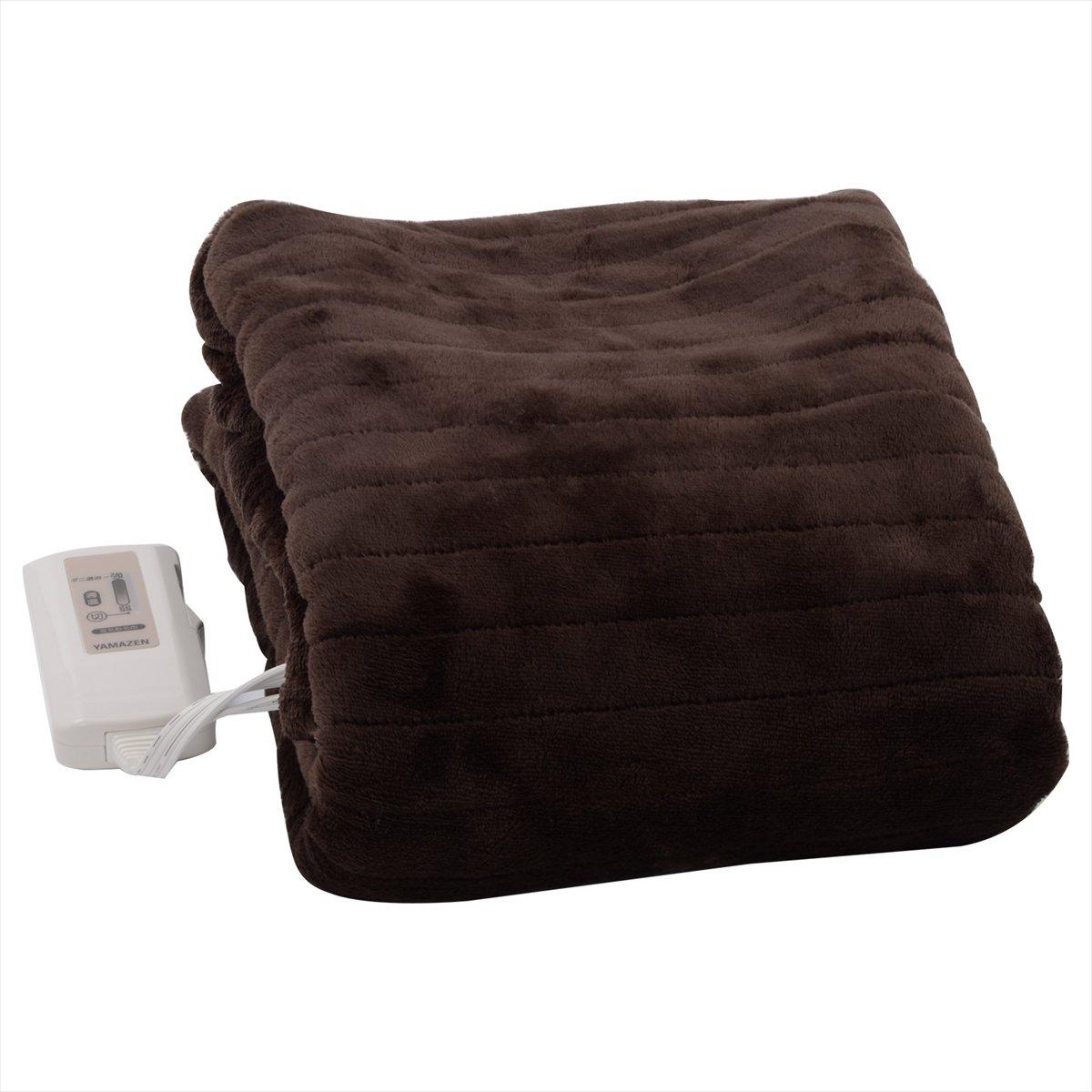 山善(YAMAZEN) ふわふわもこもこ 電気敷毛布