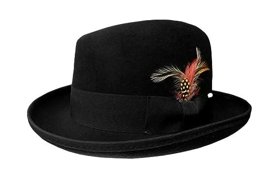 d2f0382a0912b Amazon.com  22871 (Small Medium 7 1 4) Homburg Hat  Clothing