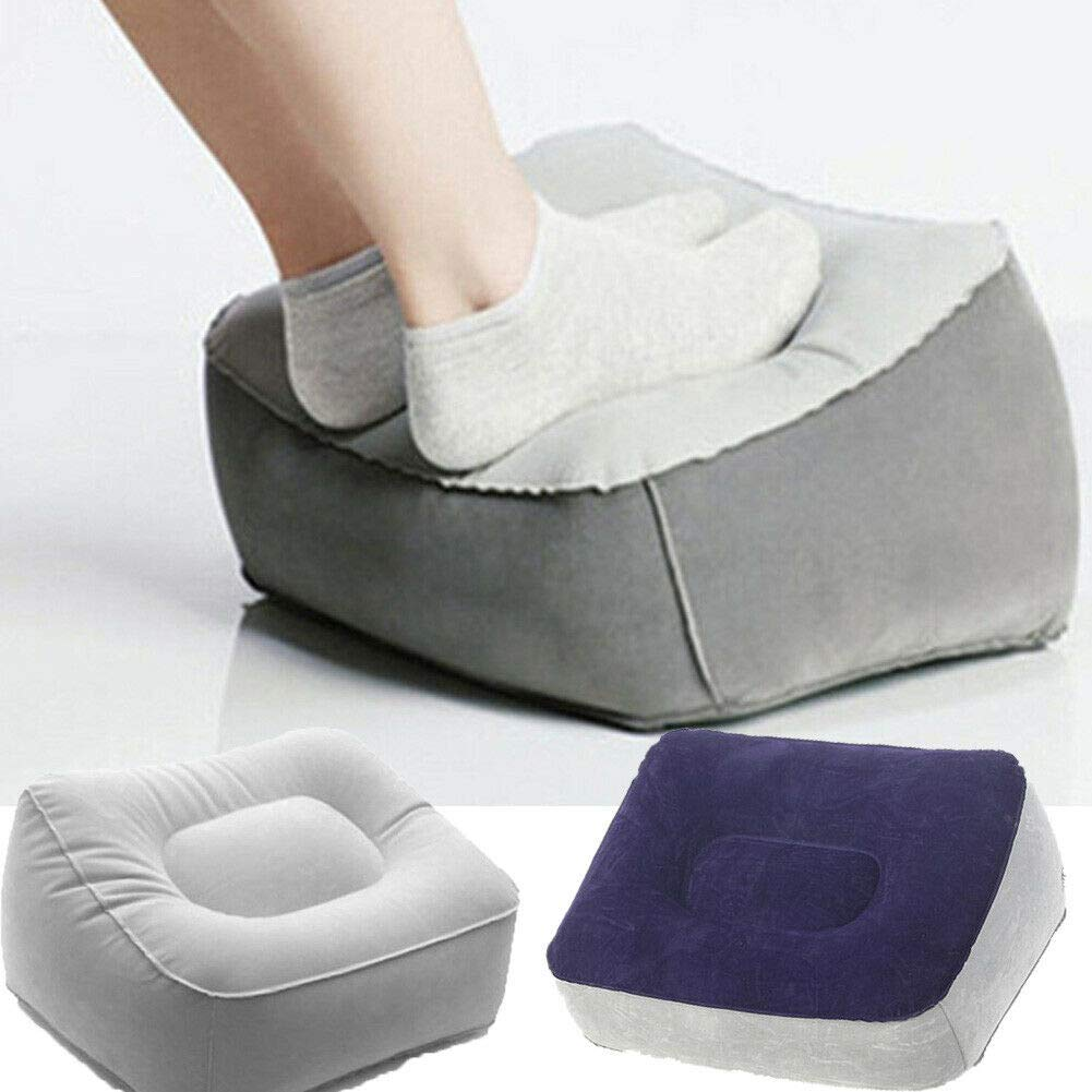 SHIJING 2019 Newest Hot Fashion Sale Inflatable Foot Rest Pillow Cushion Air Travel Office Home Leg Up Footrest Relax