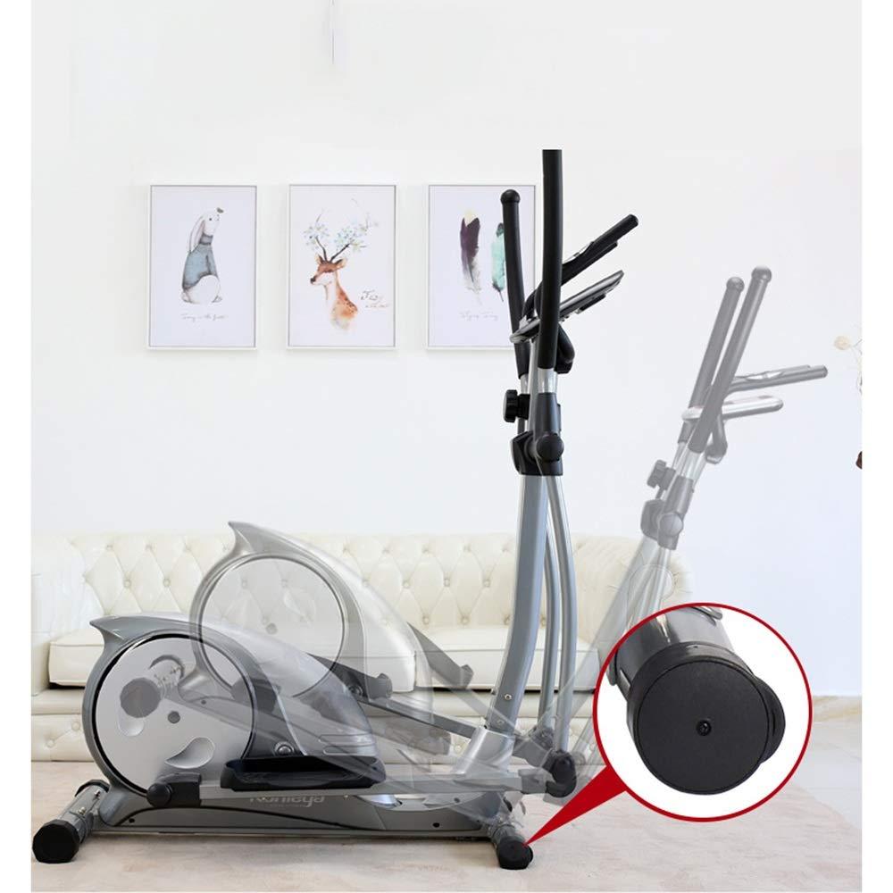 Máquina elíptica Elíptica entrenador y la bicicleta estática con ...