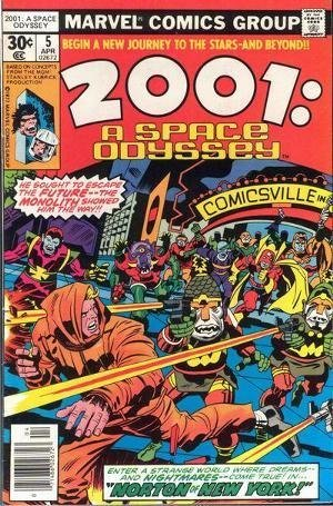 Buy 2001 a space odyssey comic book