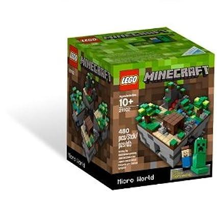 Amazon.com: LEGO Minecraft, Micro World 21102 (Discontinued by ...