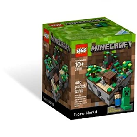 Amazoncom LEGO Minecraft Micro World Discontinued By - Lego minecraft spiele online