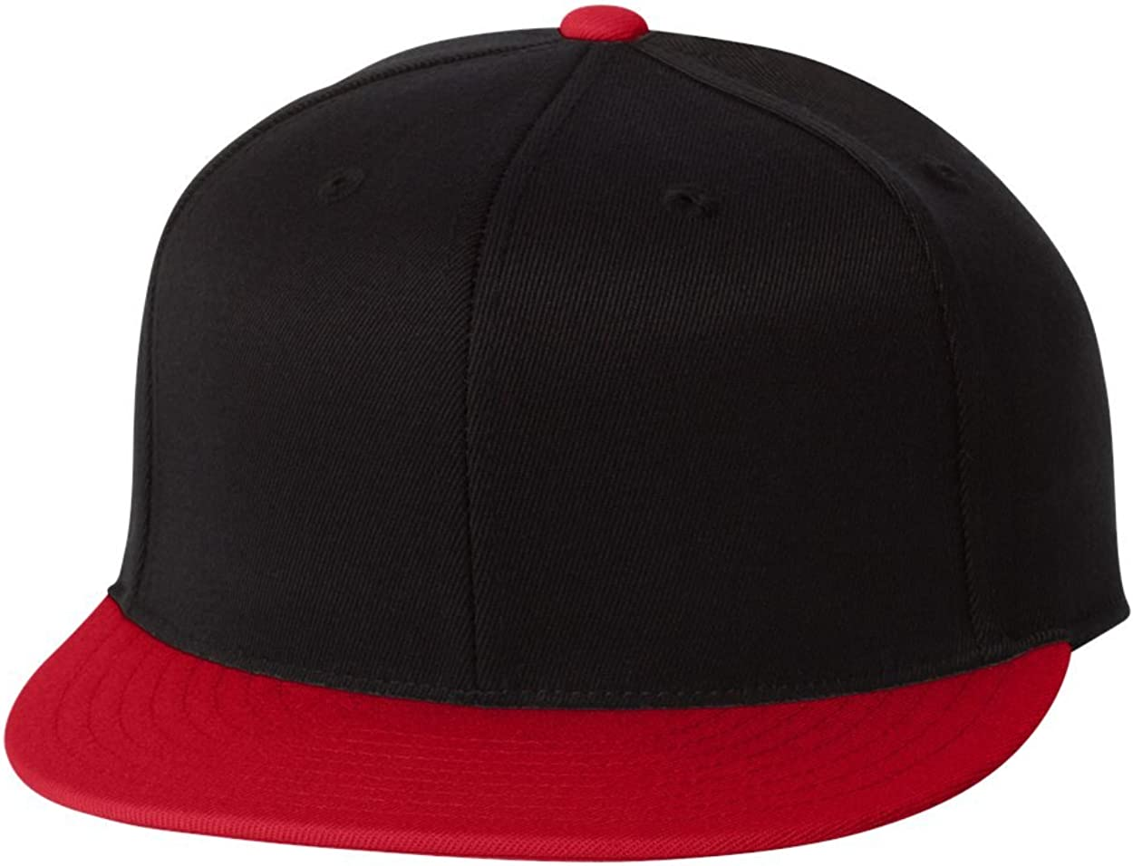 Black//Red 6210T Premium Fitted 210T Large//X-Large