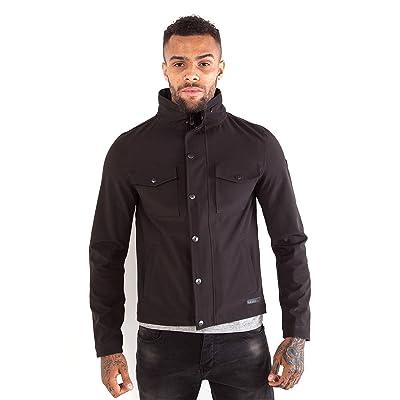 883 Police Arvin Zip Black Jacket