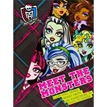 Monster High: Meet The Monsters by Parragon Books (2013) Hardcover