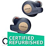(CERTIFIED REFURBISHED) Jabra Elite Active 65t Alexa Enabled True Wireless Sports Earbuds with Charging Case – Copper Blue