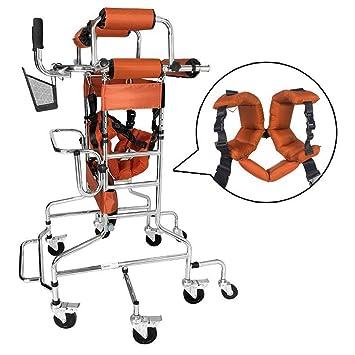 Amazon.com: Andador de lujo con ruedas y asiento profesional ...