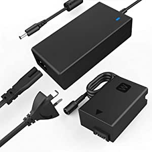 F1TP ACPW20 AC Power Supply Adapter kit (Replace NP-FW50 Dummy Battery) for Sony Alpha A7000 A6500 A6400 A6300 A6100 A6000 A5100 A5000 A7 A7II A7RII A7SII A7S A7R A35 A37 A55 RX10 Camera.