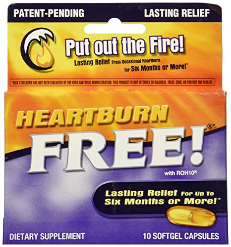 Enzymatic Therapy - Heartburn Free, 10 softgels