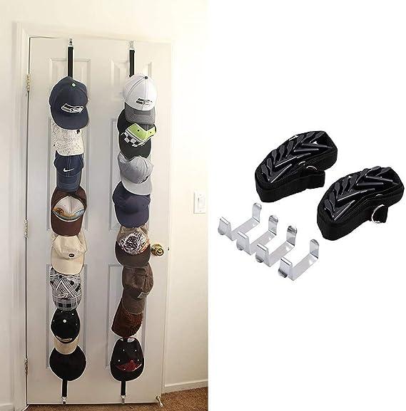 Liamostee cap Organizer Hanger 10 Cappellini da Baseball Porta Cappelli Organizzatore per Armadio