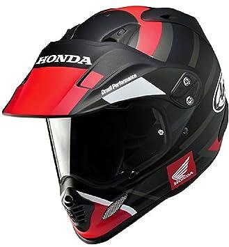 Casco Honda Arai tour-x4 de fibra Small negro / rojo