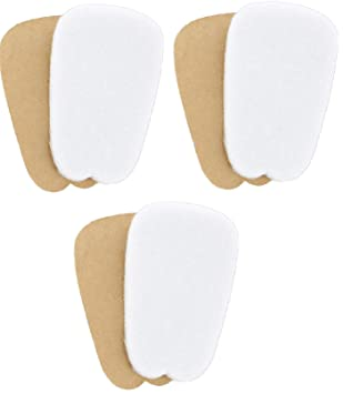 Amazon.com: 3 pares de fieltro Lengua almohadillas para ...