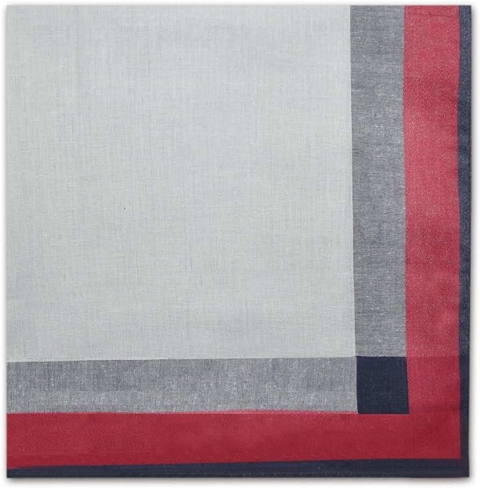 HanKeepA Mens Handkerchiefs 100/% Cotton Assorted Hankies 6-piece