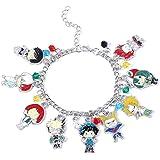 KANGSHUN My Hero Academia Bracelet Deku MHA Anime Manga Cartoon Jewelry for Women Girl