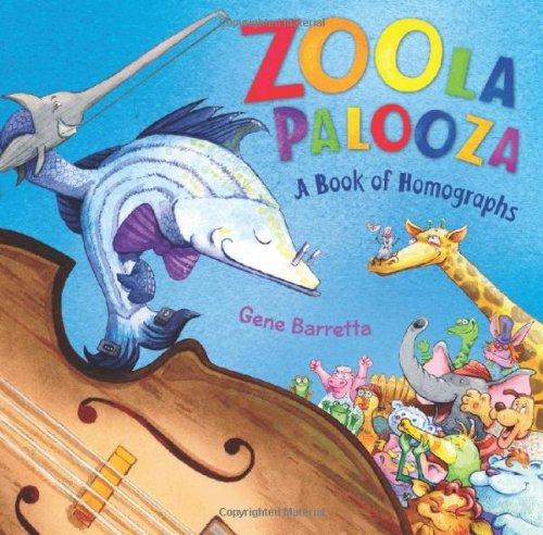 Zoola Palooza: A Book of Homographs pdf epub