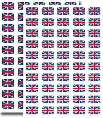 United Kingdom Flag Wall Sticker Union Jack vinyl decal sticker UK 3 sizes