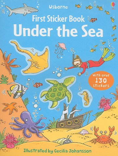 Under the Sea (Usborne First Sticker Book)