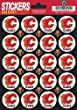 "Calgary Flames Logo Sticker Sheet 5""x7"" Decals Licensed - 20 Logos"