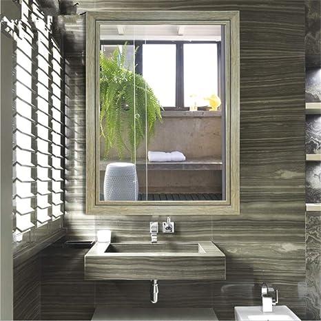Espejo moderno montado en la pared del cuarto de baño Vanity ...